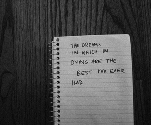 Dream, quotes, and mad world image