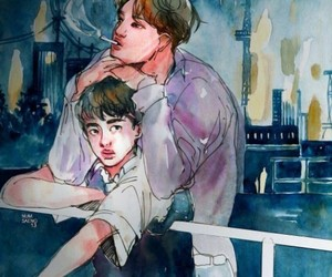 exo, kaisoo, and fanart image