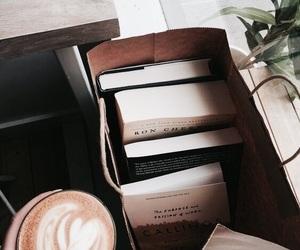 book, coffee, and tumblr image