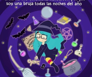bruja, divertido, and Halloween image