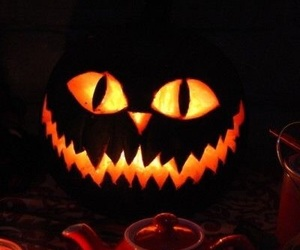 carving, fall, and Halloween image