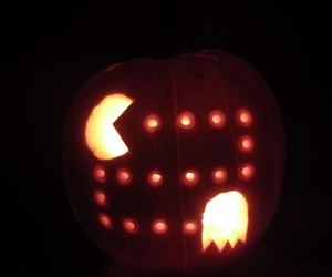 carving, Halloween, and fall image