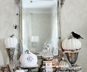 glam, Halloween, and silver image