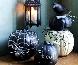 decor, glam, and Halloween image