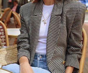fashion, blazer, and indie image