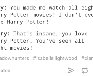 funny, harry potter, and izzy image