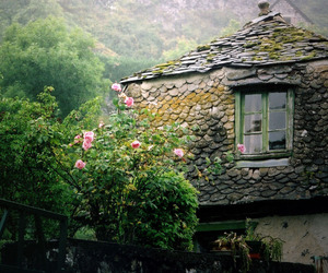 house, architecture, and cottage image