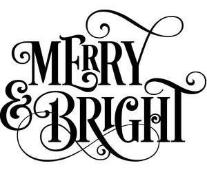 merry and bright image