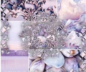 Collage, lilac, and purple image