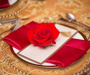 beautiful, boda, and red image