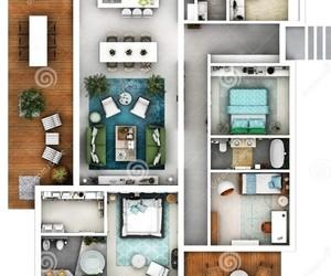 casa, decoração, and inspiração image