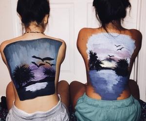 art, body art, and back paint image