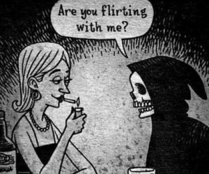 dead and flirting image