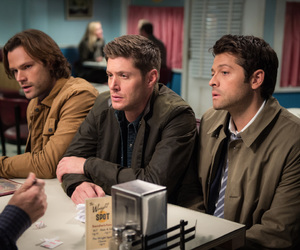 dean winchester, Jensen Ackles, and misha collins image