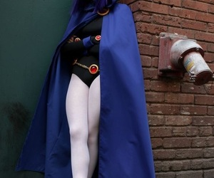 cosplay, teen titans, and raven image