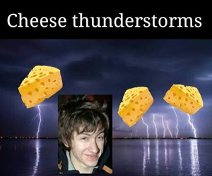 alex turner, arctic monkeys, and cheese image
