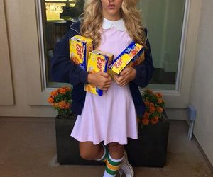 Halloween, stranger things, and costume image
