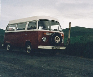 car, vintage, and hipster image