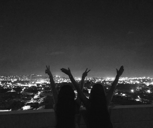 best friend, city, and forever image