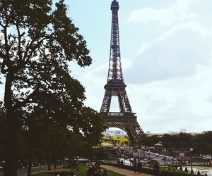 city, patis, and eiffel tower image