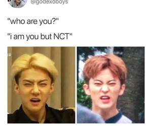 funny, nct, and exo image