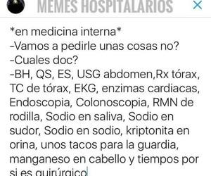 humor, enfermeria, and medicina image