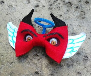 cosplay, unique hair bows, and handmade bows image