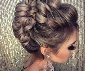 hair, girl, and beautiful image