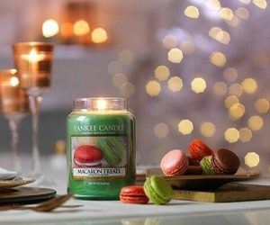 candle, winter, and yankee candle image