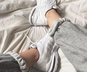 air max, grey, and sneakers image