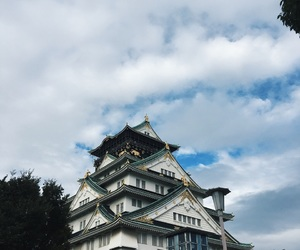 castle, japan, and pretty image