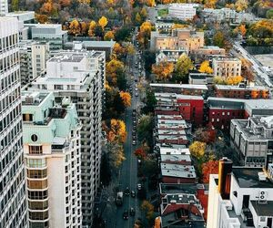 fall and montreal image