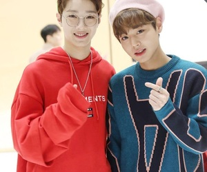 jihoon, wanna one, and guanlin image