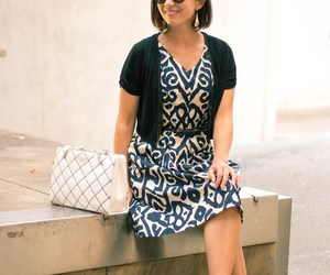 bag, business casual, and dress image