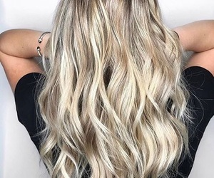 blond, goals, and hair style image