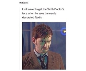 david tennant, derp, and doctor who image