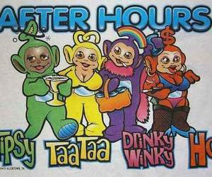 teletubbies, drung, and afterhours image