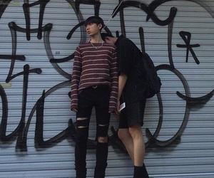 asian, gay, and korean image