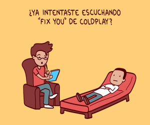 books and coldplay image