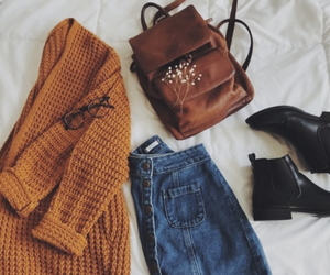 autumn, boots, and autumn vibes image