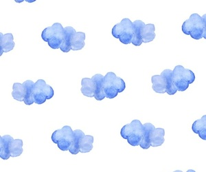 background, cloud, and iphone image