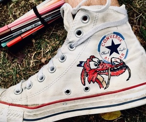 converse, disney, and draw image