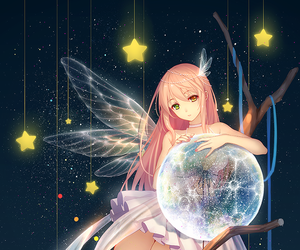 anime, anime girl, and fairy image