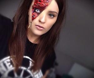 dia de muertos, halloween costumes, and makeup image