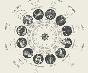 zodiac, astrology, and Libra image