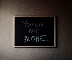 text, alone, and quote image
