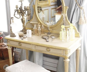 classy, dressing table, and interior image