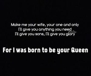 couple, glory, and Lyrics image