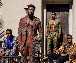 African and black king things image