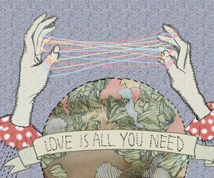 all you need is love and hands image